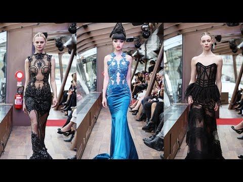 Jessica Minh Anh's Autumn Fashion Show 2015 on the Seine in Paris