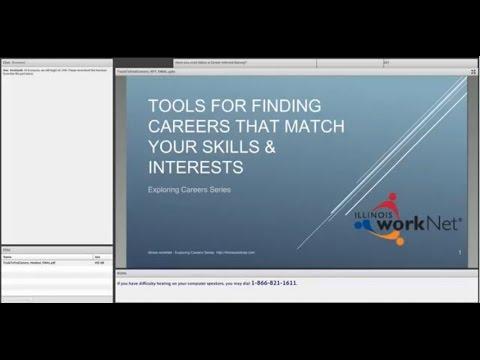 Tools for Finding Careers That Match Your Skills and Interests October 9, 2014
