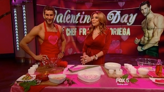 Valentines aphrodisiac recipes at The Wendy Williams Show
