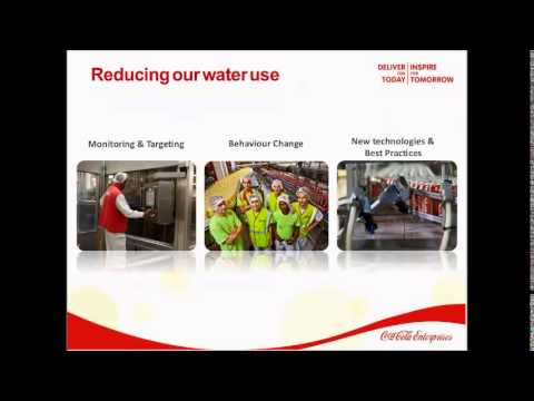 Water efficiency: Helping the drinks sector to save water an
