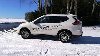 NEW Nissan X-trail 2018 Test Drive Review With EuromanDriver