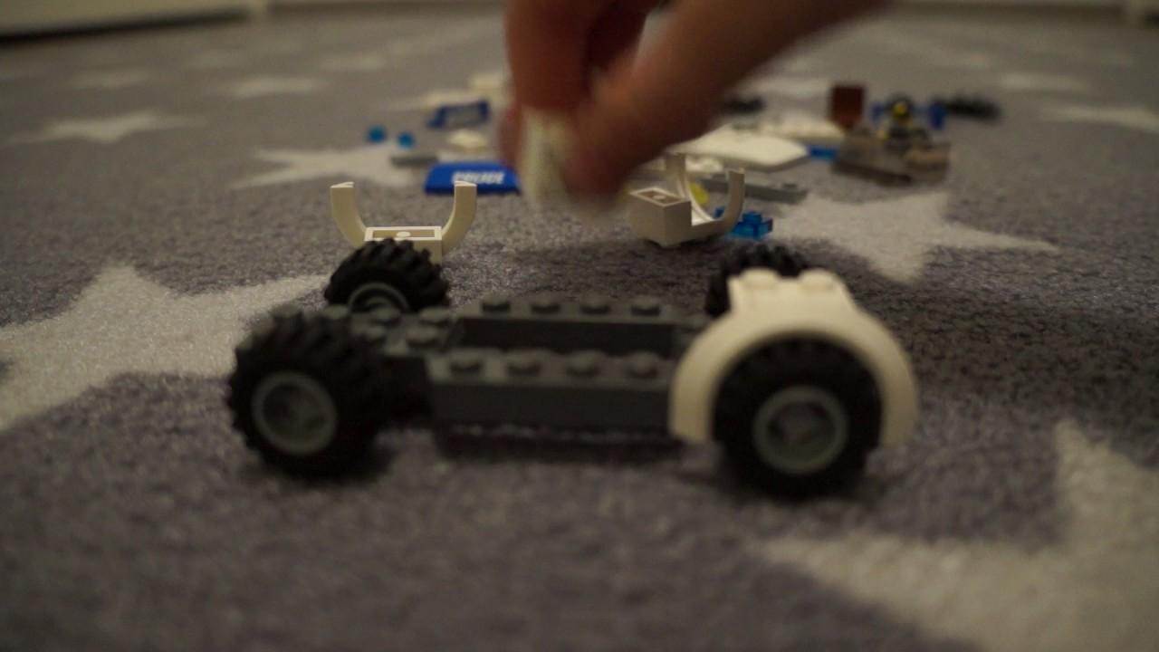 lego polizei auto selber bauen tutorial 3 youtube. Black Bedroom Furniture Sets. Home Design Ideas
