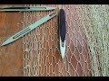 Поделки - Вязание рыболовной сети. Как связать сетное полотно своими руками. Сеть для разного применения.