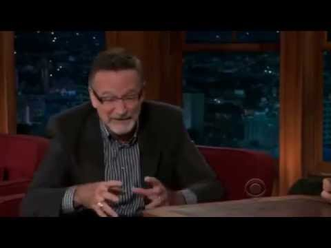 Funny moments of Robin Williams on some television talk shows