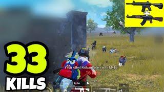 BEST GAMEPLAY OF 2019!!! | 33 KILLS SOLO VS SQUADS | PUBG MOBILE