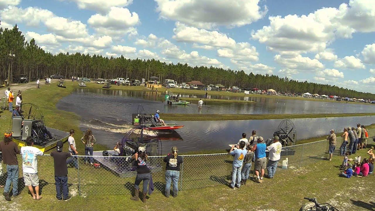 Hog Waller Airboat Racing March 15th by Hog Waller Mud Bog