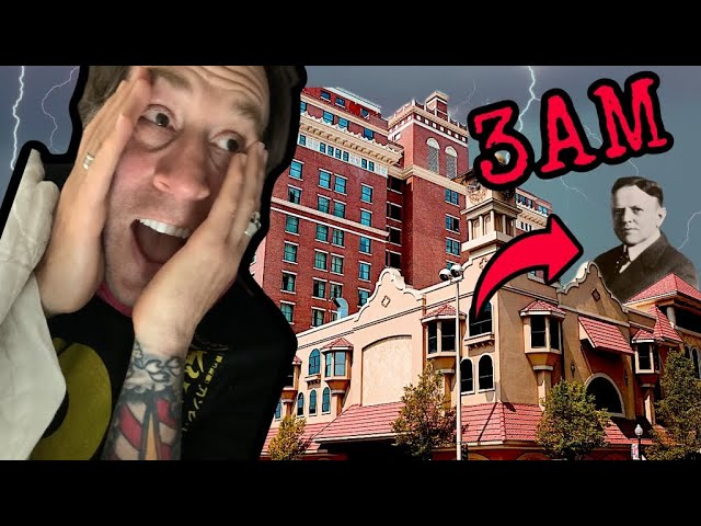 Catching a Ghost on film at the Davenport Hotel | Haunted Hangouts on Coffee Talk with ADIKA Live!