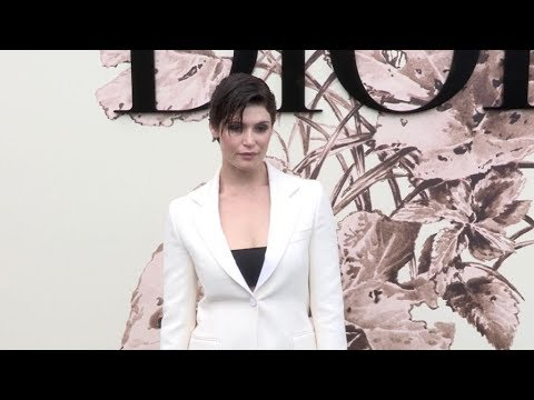 Gemma Arterton and more at the Dior Couture Fashion show in Paris