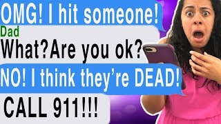 I KILLED SOMEONE While Texting And Driving!!! ( Fieldbrook Road | Cliffhanger | Scary Text Message )