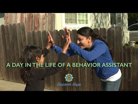 A Day in the Life of a Behavior Assistant