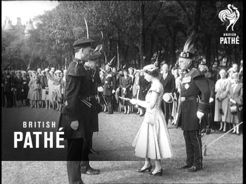 Special - The Queen In Scotland (1956)