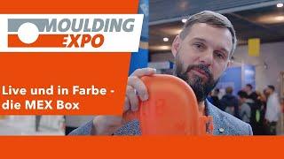 Live auf der Moulding Expo produziert - die MEX Box  Moulding Expo