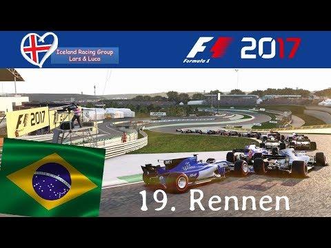 F1 2017 - Iceland-Racing-Group - Liga - 19. Rennen - Brasilien