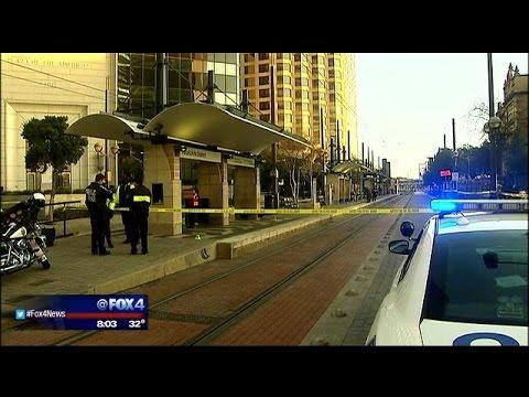 Woman stabbed at Dallas DART station
