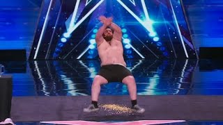 America's Got Talent 2015 S10E03 Leroy Patterson The Human Tackboard or PSA Kids Stay in School thumbnail