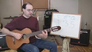 CREATIVE GUITAR: Music Theory - Triad Chord Construction thumbnail