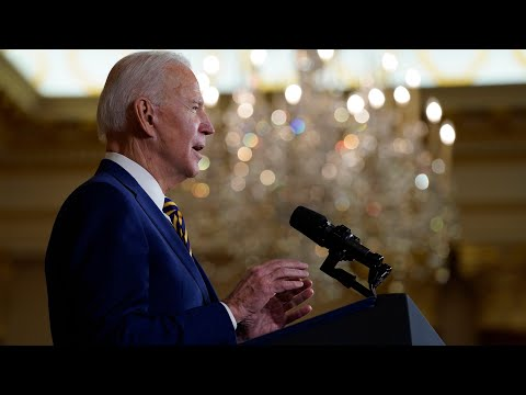 Biden: America can't afford to be absent on the world stage