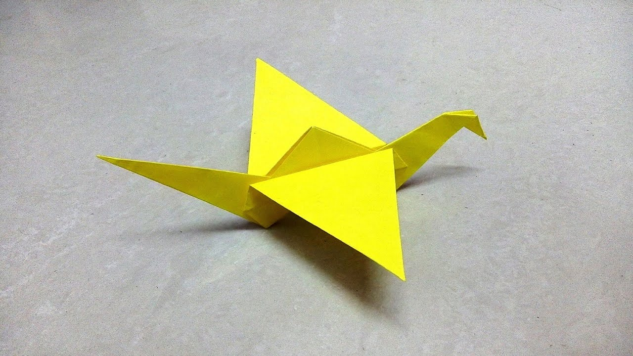 How to make an origami paper crane | Origami / Paper Folding Craft ...