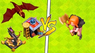 X BESTA CONTRA TODAS AS TROPAS DO CLASH OF CLANS