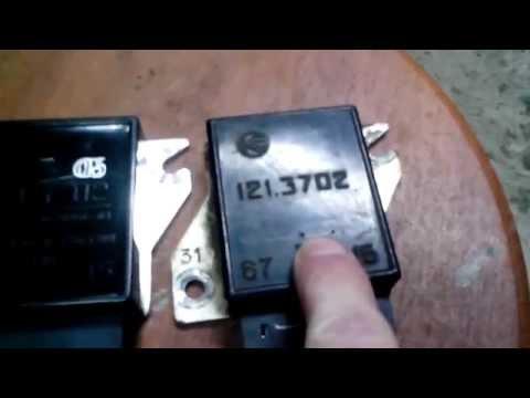 Регулятор напряжения на ВАЗ.  Voltage regulator at VAZ .