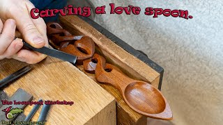 How to carve a Love spoon - GoPro