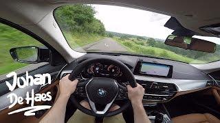 2017 BMW 530d xDrive Touring 265 hp POV Test drive