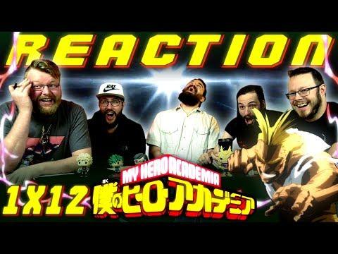 My Hero Academia [English Dub] 1x12 PLUS ULTRA REACTION!!