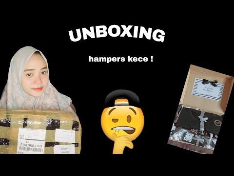 UNBOXING #hampers black series ! Rekomendasi kado buat pacar