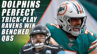 The Greatest NFL Trick Play! Tucker is Big Truss & NFL Sunday