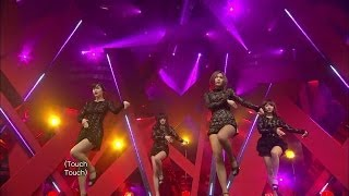【TVPP】Miss A - Touch, 미쓰에이 - 터치 @ Comeback Stage, Music Core Live