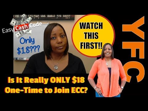 Easy Cash Code Scam Review Is it Really Only $18 to Get Started With ECC WATCH THIS BEFORE JOINING!
