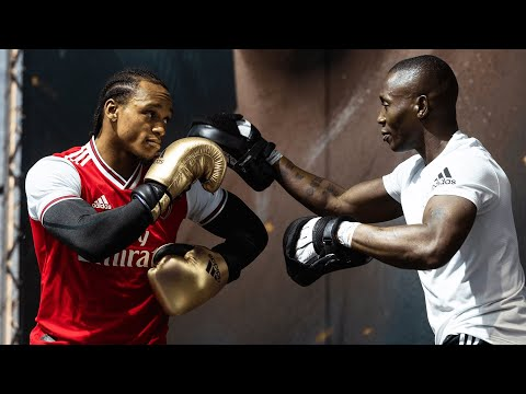 Full Anthony Yarde public workout in Russia   Beast from the East shows off his knockout power
