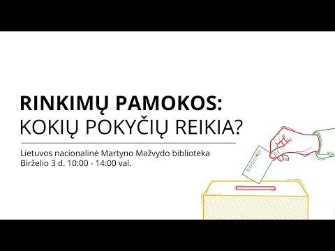 Rinkimų pamokos: kokių pokyčių reikia rinkimų skaidrumui?