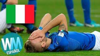 ¡Top 5 Países que NO Clasificaron para el Mundial de 2018!