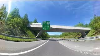 【360度 360-degree】道央自動車道 比布大雪PA to 比布ジャンクション