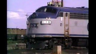 railfan tape 12 part 2 june 24 to july 1 1990