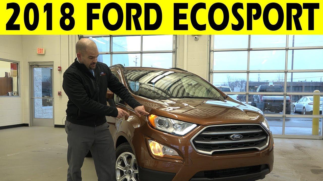 Ford Ecosport Exterior Interior Walkaround