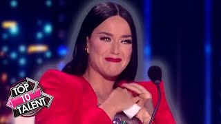 10 EMOTIONAL Auditions That Made Katy Perry CRY On American Idol!