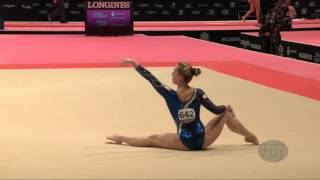 FERLITO Carlotta (ITA) - 2015 Artistic Worlds - Qualifications Floor Exercise