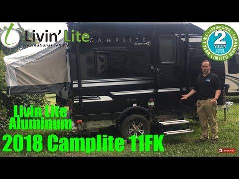 2018 Camp Lite 11FK Livin Lite Aluminum Travel Trailer RV