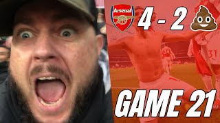 Arsenal 4 vs 2 Sp*rs - Will Everyone Take Us Seriously Now - Matchday Vlog