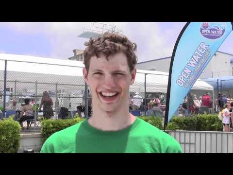 Sean Ryan USA Swimming National Open Water Champion