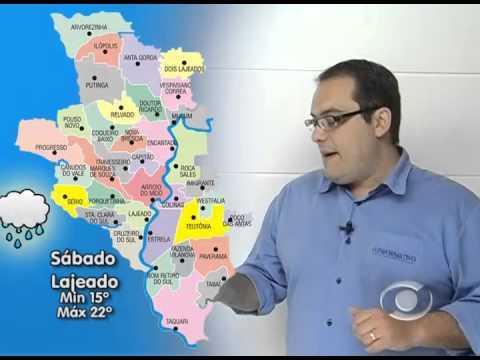 Previsão do Tempo 04 09 2015
