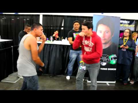 Power Ranger Dance Battle feat. Walter Jones, Johnny Yong Bosch and Karan Ashley