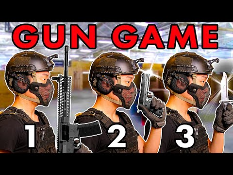 Ultimate Airsoft Gun Game!