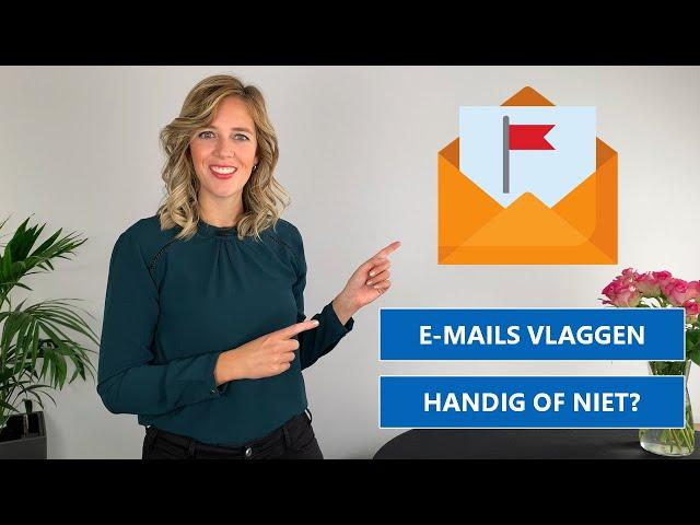 Vlaggetjes geven aan e-mails | Handig of niet handig?