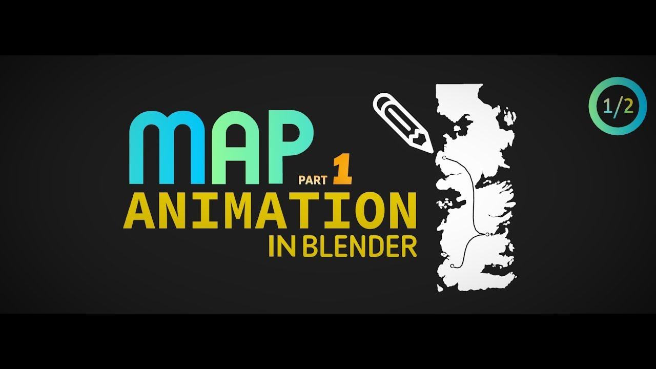 Animate a map in blender part 1 intermediate youtube animate a map in blender part 1 intermediate gumiabroncs Gallery