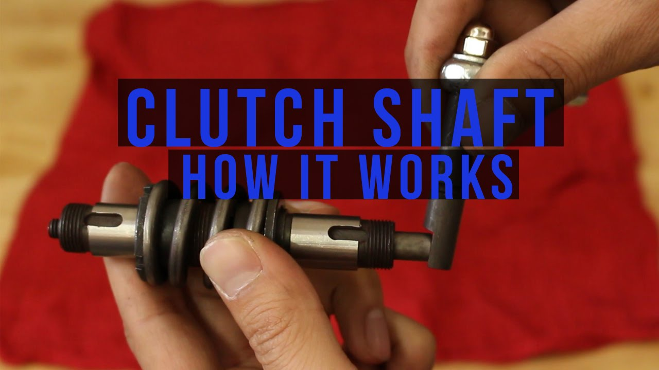 How a 2 Stroke Clutch Shaft Works for a 50cc and 66/80cc BikeBerry