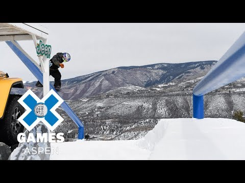 Men's Snowboard Slopestyle: FULL BROADCAST | X Games Aspen 2