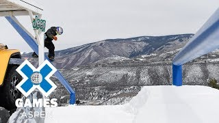 Snowboard - Men's Snowboard Slopestyle: FULL BROADCAST | X Games Aspen 2018